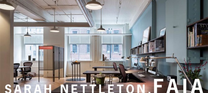 Sarah Nettleton has been elevated to FAIA